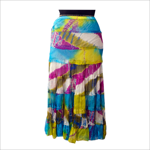 Ladies Multicolor Skirt
