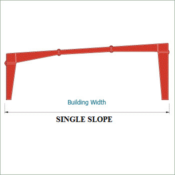 Single Slope Shed Structure