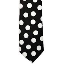 Polka Dots Necktie