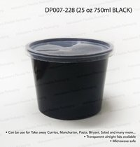 25 oz 750ml Black