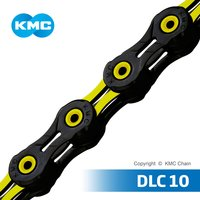 KMC CHAIN DLC10 10 Speed Bicycle Chain