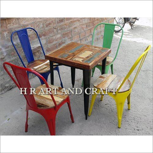 FOUR SITTING CAFE FURNITURE