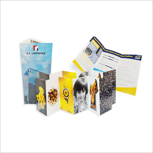 Printed Brochure Printing Services