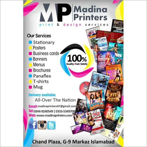 Designer Leaflets Printing Services