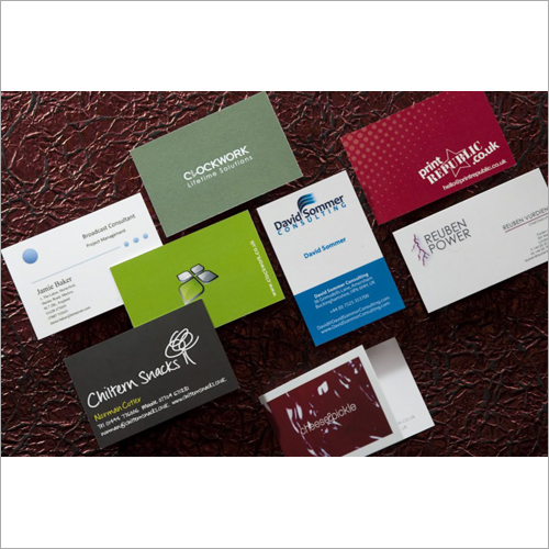 Printed Visiting Cards Printing Services
