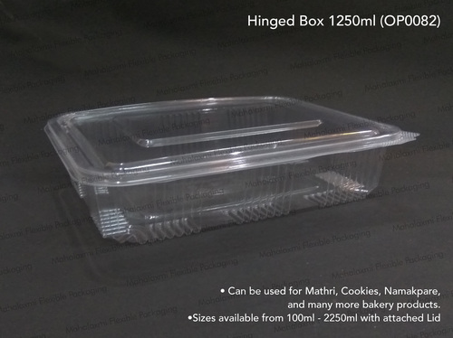 Hinged Box 1250ml