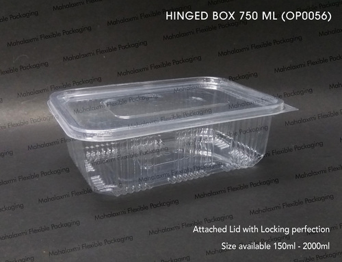 HINGED BOX 750 ML