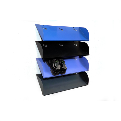 Foldable Metal Shoe Rack for office / shops