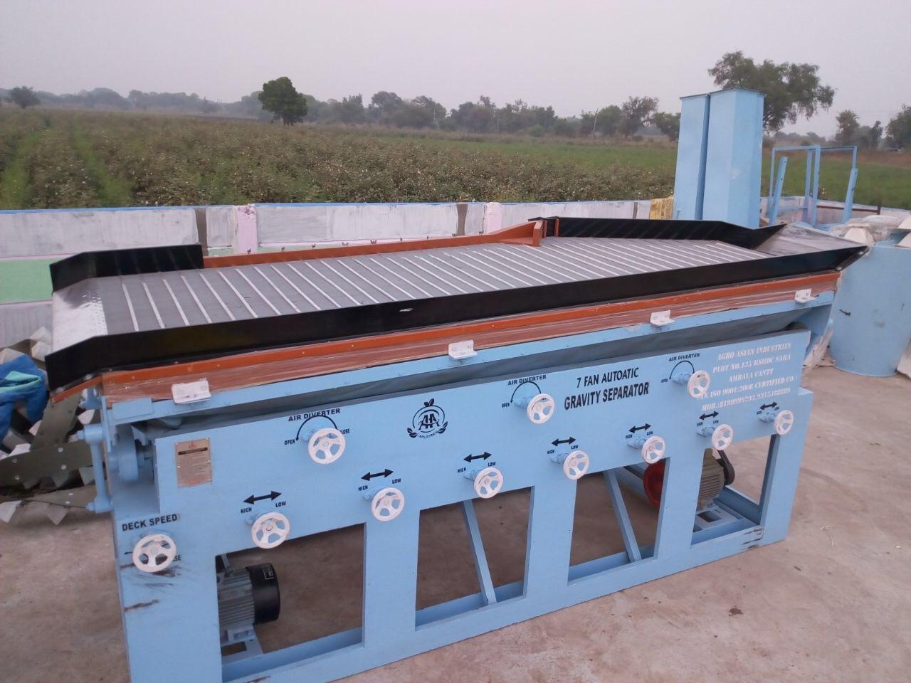 Gravity Table Separator