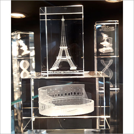 3D Crystals Monuments Engraved