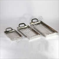 Aluminum Serving Tray Set