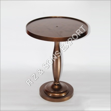 Copper Finish Table