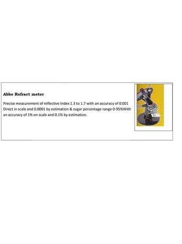 Abbe Refract meter