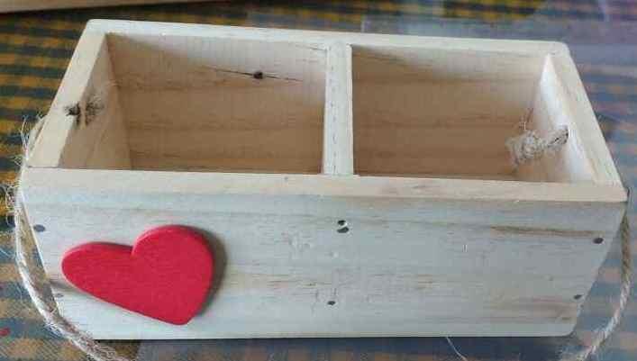 Wooden Storage Organiser.