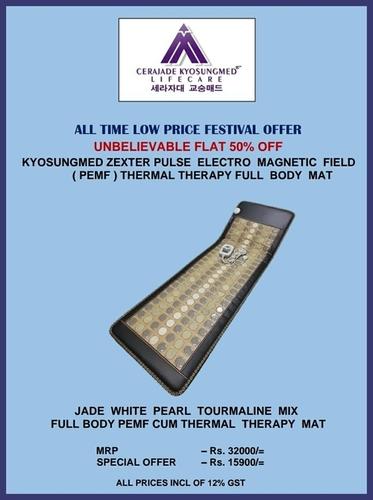 Jade Stone PEMF Therapy Mat