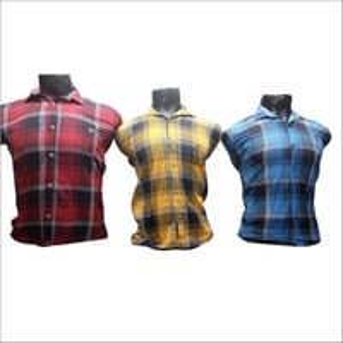 Mens Multicolor Checked Shirt