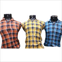 Mens Stylish Cotton Checked Shirt