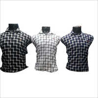Mens Trendy Cotton Checked Shirt