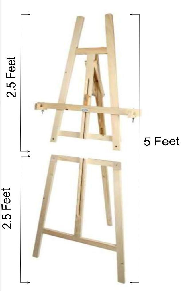 Easel Standees 5 Feet 2in1