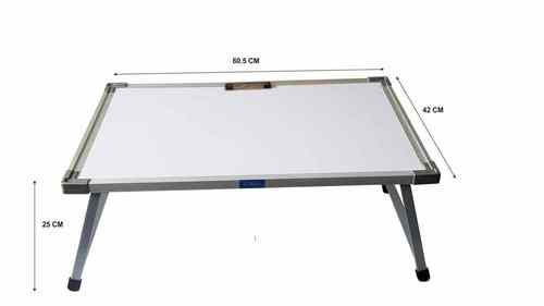 Multipurpose  Metal Folding Laptop Table, Whiteboard table.