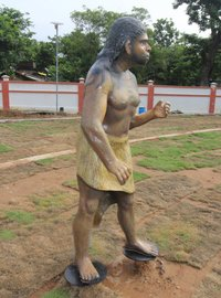 Evolution Park Neanderthal Man