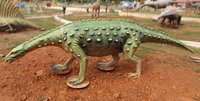 Evolution Park Scelidosaurus