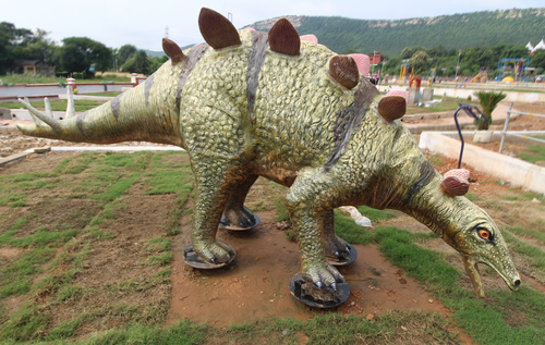 Evolution Park Stegosaurus