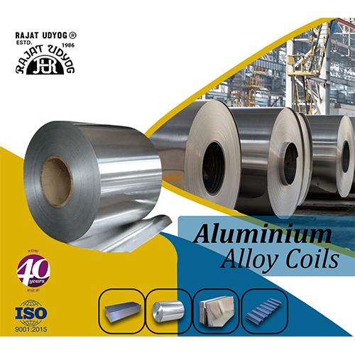 Silver Aluminium Alloy Coils
