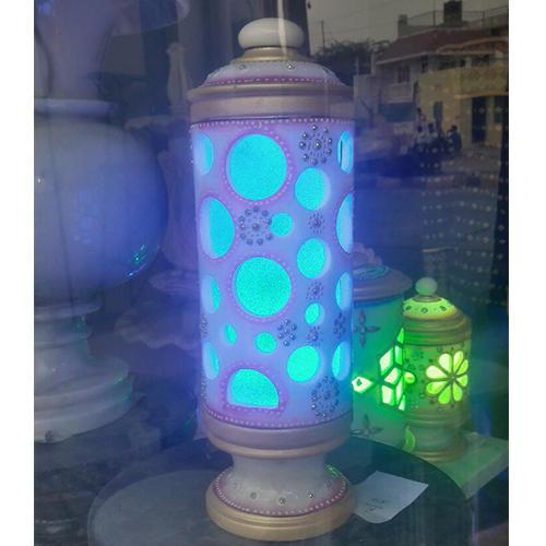 Marble Capsule Lamp