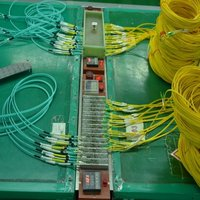 001 series LC Patch Cord+ Short Boot fiber patch cord