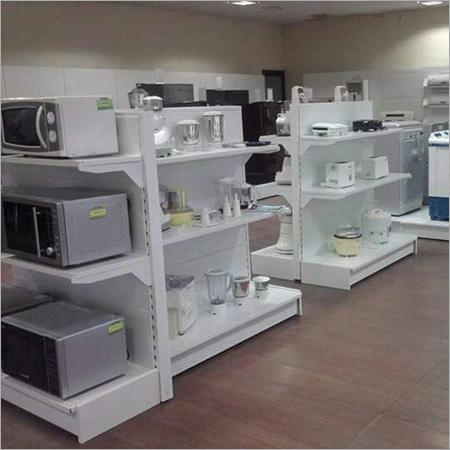 Electronic Showroom Rack