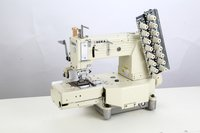 Cylinder Bed Chain stitch Elastic Attaching Machine