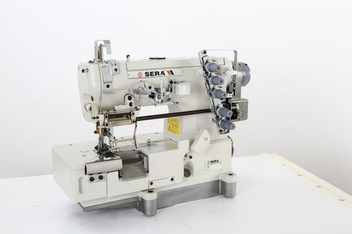 Flat Lock Elastic Attaching Machine