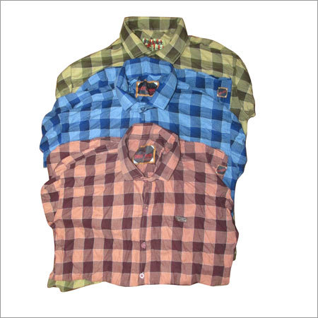 Mens Casual Checked Shirts
