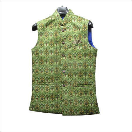 Mens Party Wear Waistcoat