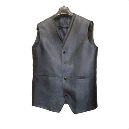 Mens Black Waistcoat