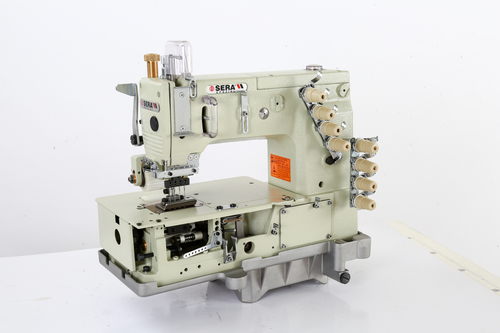 Elastic 4 Needle Machine