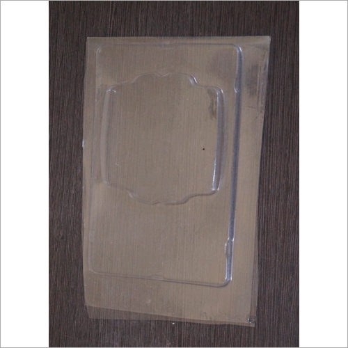 PVC Rectangular Blister