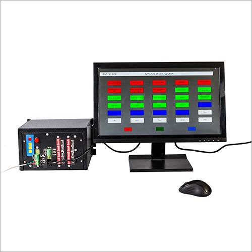 LCD Monitor Based Annunciator Model ANA-2104