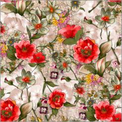Satin Digital Print Fabrics