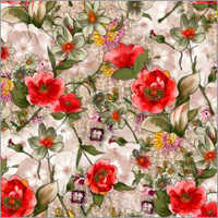 Satin Digital Print Fabrics