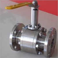 Extended stem forged flanged ball valves