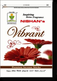 Vibrant Incense Sticks