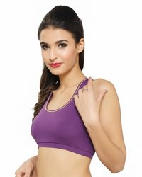 Neeya Sports Bra (Active Bra) - Zr511 (Purple)