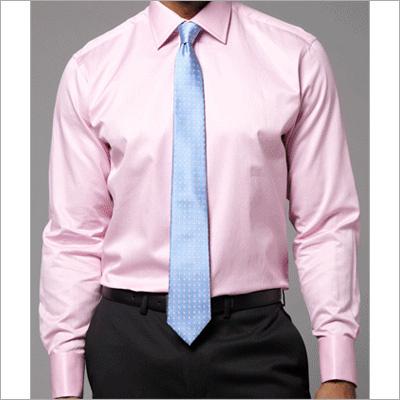 Pink Full Sleeve Formal Shirt