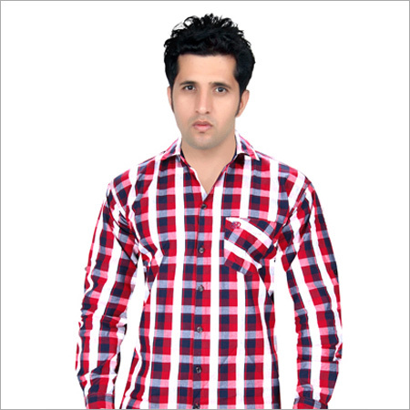 Check Full Sleeve Casual Shirt
