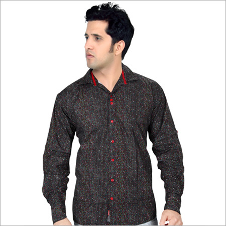 Dark Color Full Sleeve Casual Shirt