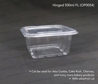 Hinged Bakery Packaging