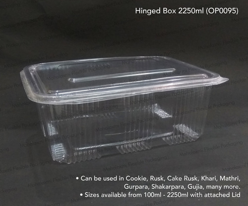 Hinged Bakery Box