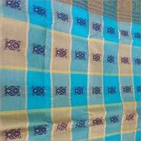 Tant Embroidery Saree